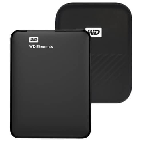 Product Image of the WD Elements Portable 휴대용 외장하드+파우치