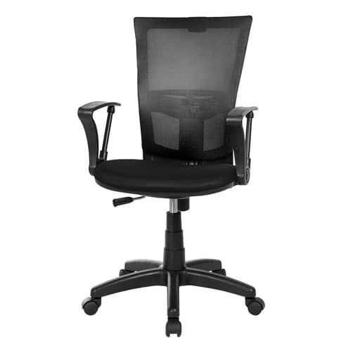 Product Image of the 체어클럽 M1 기본형 블랙바디 메쉬 의자