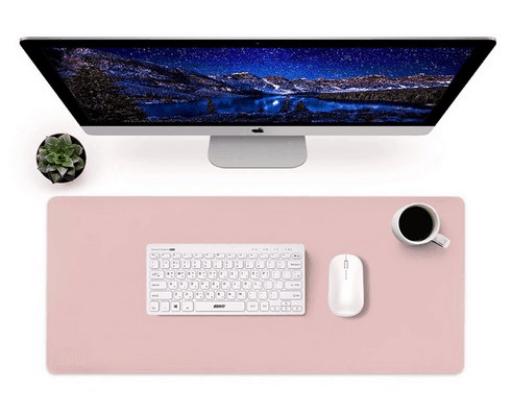 Product Image of the 앱코 가죽 파스텔 데스크 롱 마우스패드