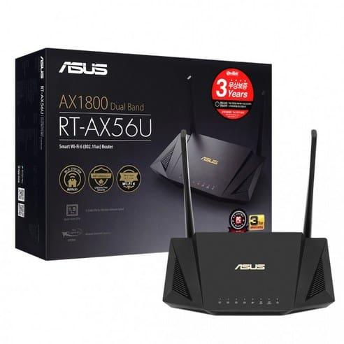 Product Image of the 에이수스 유무선공유기 RT-AX56U