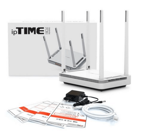 Product Image of the ipTIME A2004MU 유무선공유기