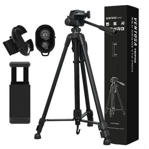 Product Image of the 벤토사 미러리스 & DSLR & 스마트폰 겸용 3단 삼각대